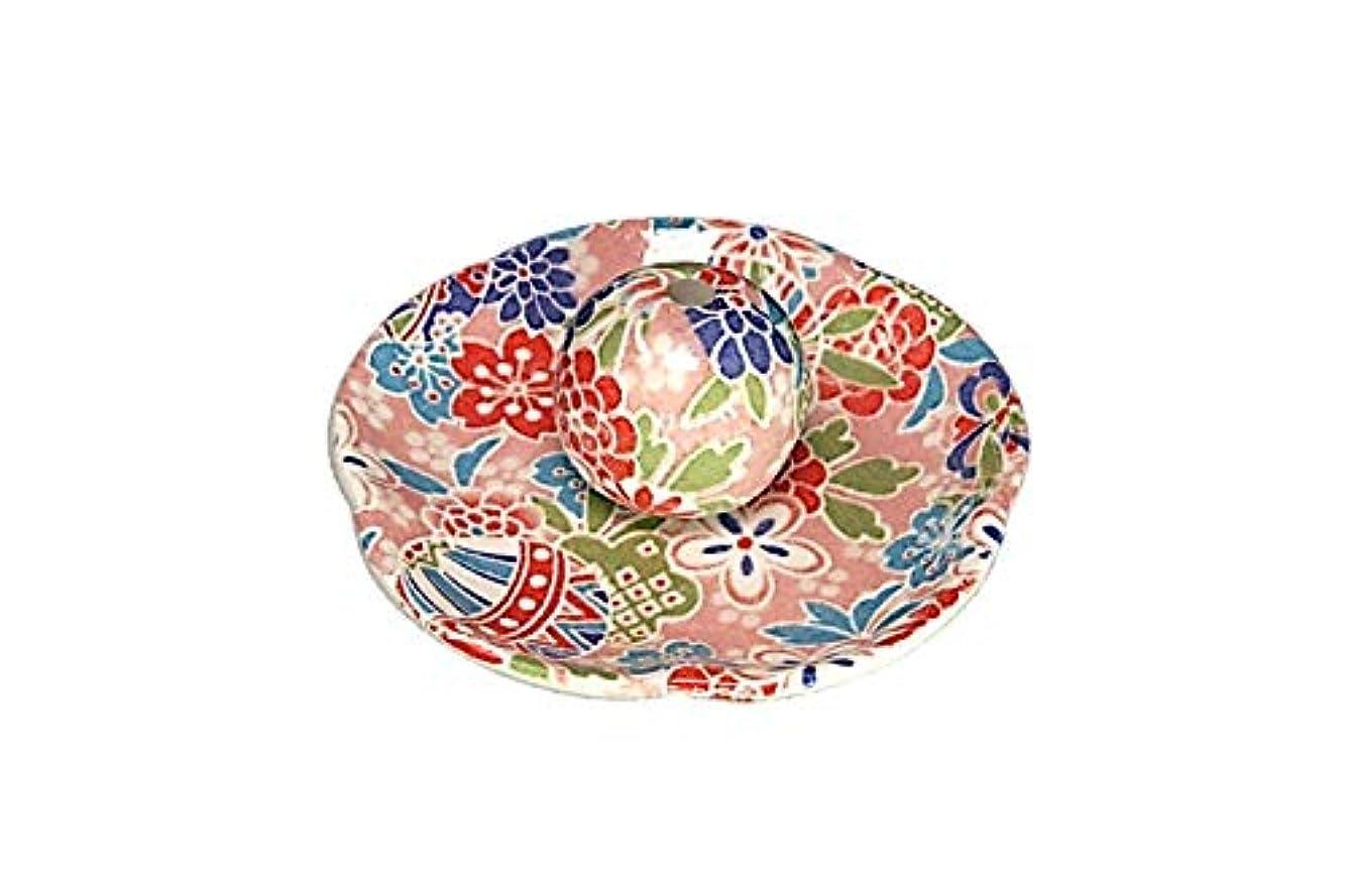 マルコポーロ義務する京雅桃 花形香皿 お香立て お香たて 日本製 ACSWEBSHOPオリジナル