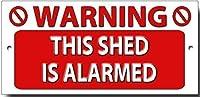 これは警告品質の金属製サインです。