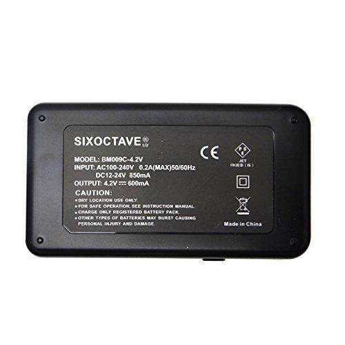 [str] PanasonicVW-BC10-K互換充電器VW-VBK360-K/VW-VBK180-KHDC-TM70/HDC-TM60/HDC-HS60/HDC-TM35/HDC-TM90/HDC-TM95/HDC-TM85/HDC-TM45/HDC-TM25/HC-V700M/HC-V600M/HC-V300M/HC-V100M (SIXOCTAVE商標登録)