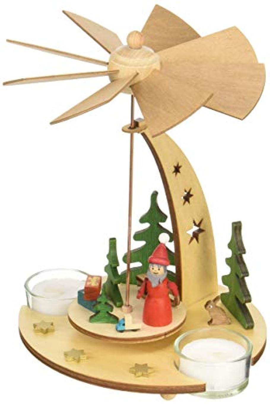 巧みな不十分な一kuhnert クリスマスピラミッド サンタクロース