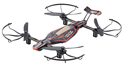 DRONE RACER ZEPHYR (ドローンレーサー ゼファー)フォースブラック レディセット ドローン規制対象外200g未満 自動ホバリングドローンレースクワッドコプター 京商 20572BK-B