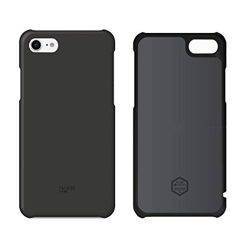 北欧ブランド Shield Patrol(シールドパトロール) NanoCase(ナノケース) iPhone7専用 最大20% バッテリーを長持ち (NC0 1-i7-OPBK) 黒 (正規代理店) ナノグラフェン素材 放熱 発熱対策