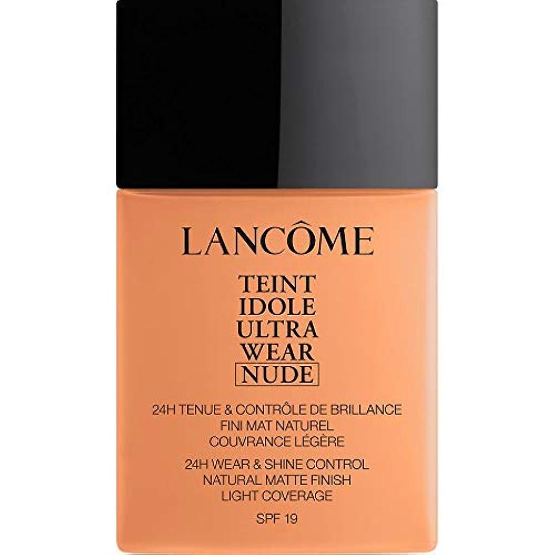 機構デンプシー朝ごはん[Lanc?me ] ランコムTeintのIdole超摩耗ヌード財団Spf19の40ミリリットル08 - キャラメル - Lancome Teint Idole Ultra Wear Nude Foundation SPF19...