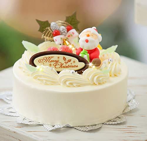 クリスマスバターケーキ 5号 クリスマスケーキ2019 【 12/22〜12/23】のお届け  北海道のバタークリームケーキ