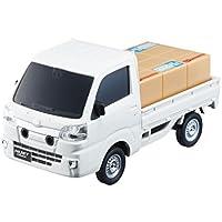 ダイハツ ハイゼット トラック(DAIHATSU hijet truck))1/32 スマアシミニカー ホワイト