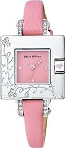[パリス・ヒルトン]Paris Hilton 腕時計 スモールスクエアコレクショ 138.4304.99ン ピンク レディース [正規輸入品]