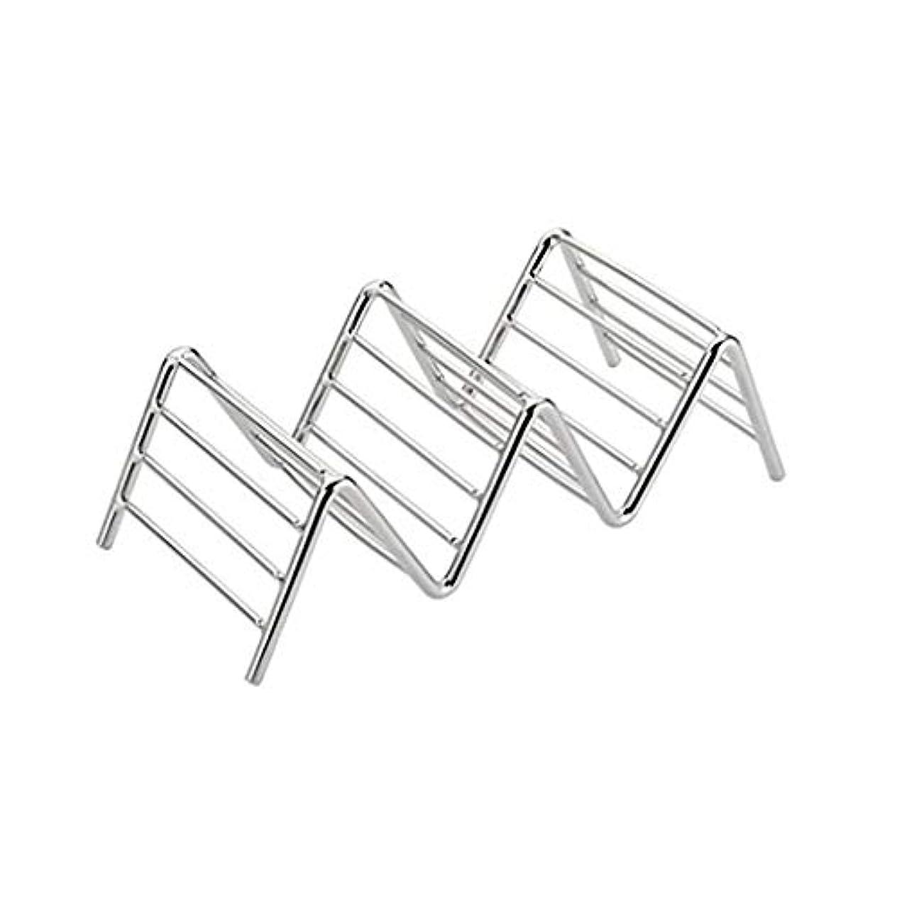 相対サイズ生き物保守可能uzinby パンケーキホルダー パンケーキラック ステンレス鋼製 お手入れ 簡素実用品 四つサイズ 【品質保証】