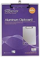 Seco、3230a-ss–アルミニウムクリップボード、防サビHolds a4用紙