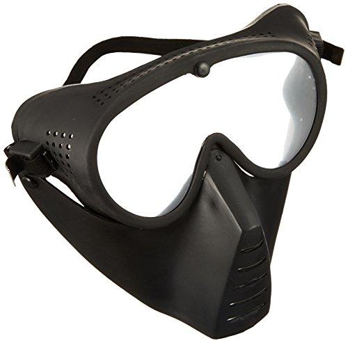 サンセイ マスク&ゴーグル 「曇り止め加工」 ブラック GA-5B