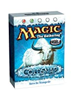 Magic the Gathering MTG Coldsnap Aurochs Stampede Theme Deck