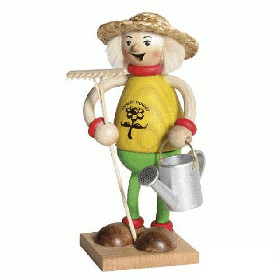 熱帯のバイソン位置づける39092 Kuhnert(クーネルト) ミニパイプ人形香炉 ガーデニング