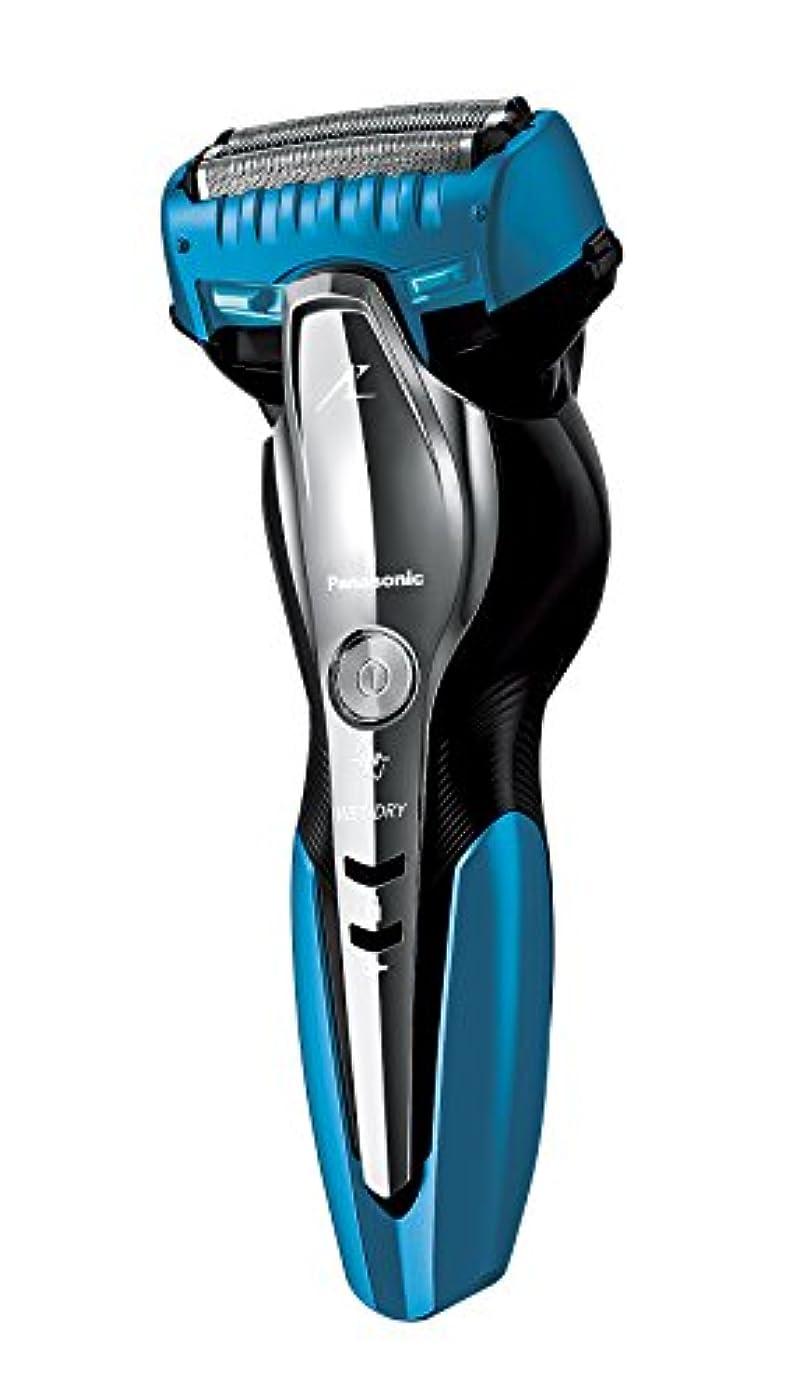 根拠借りる簡略化するパナソニック ラムダッシュ メンズシェーバー 3枚刃 お風呂剃り可 青 ES-ST6N-A