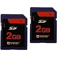Canon PowerShot sx100isデジタルカメラメモリカード2x 2GB標準安全デジタル(SDメモリカード(1)ツインパック)