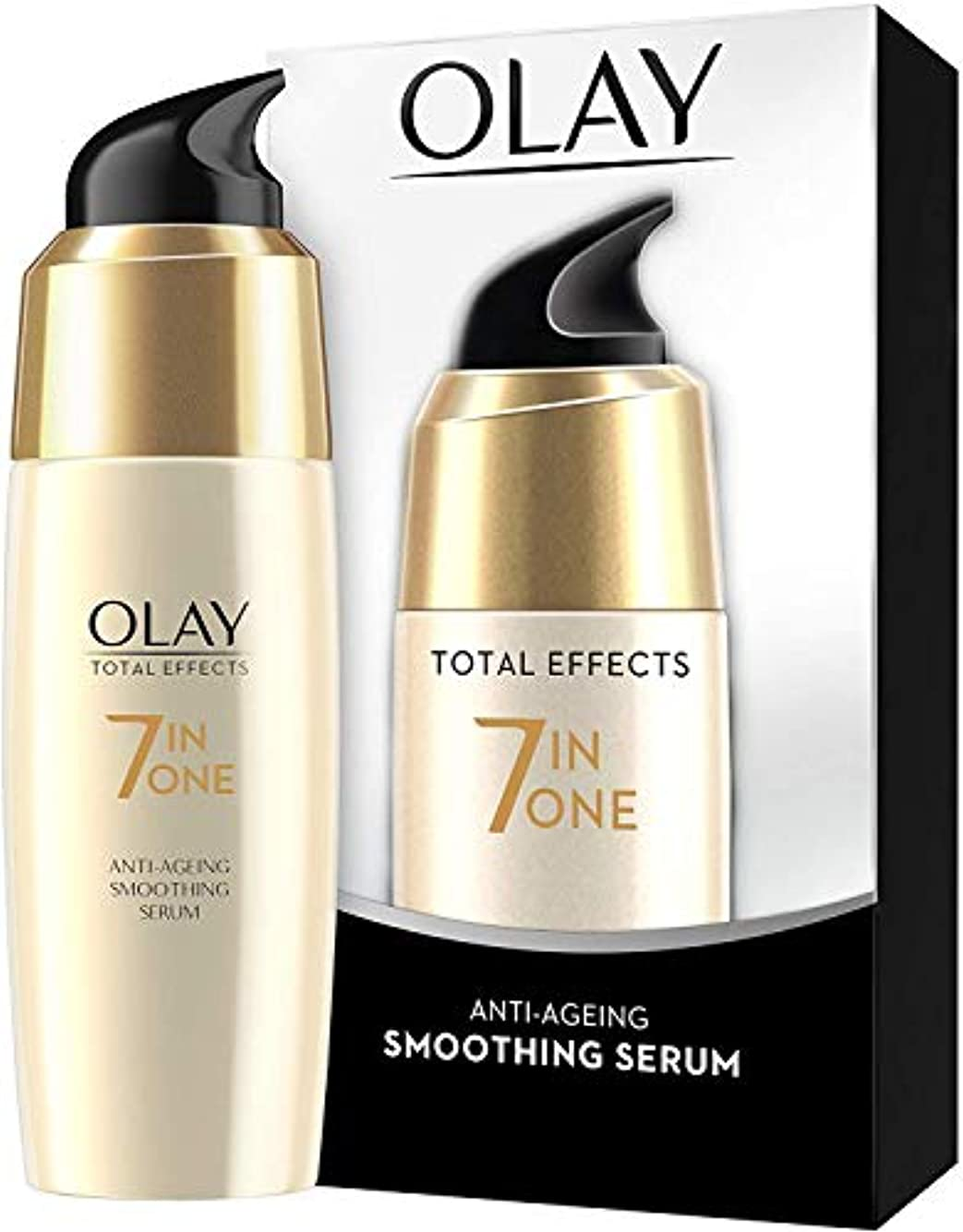 隣人建設残高Olay Total Effects Anti-Ageing Smoothing Serum 50 ML (Ship From India) [並行輸入品]