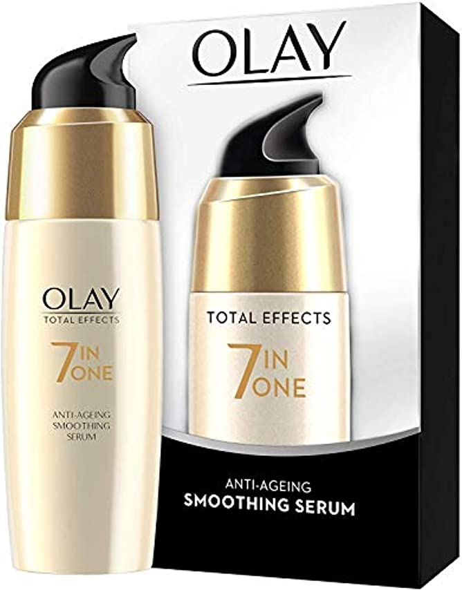 飼い慣らす属する克服するOlay Total Effects Anti-Ageing Smoothing Serum 50 ML (Ship From India) [並行輸入品]