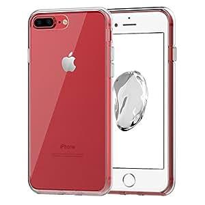 """iPhone 7 Plus ケース, JEDirect iPhone 7 Plus ケース 衝撃吸収バンパー 擦り傷防止 クリアバック アップルアイフォン7 Plus 5.5""""インチ用 (HDクリア) - 3431A"""