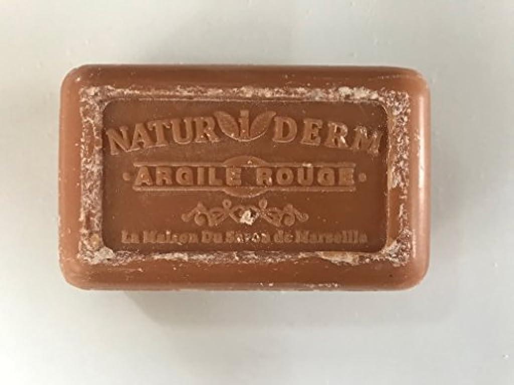 検査一元化するシリングSavon de Marseille Naturiderm Soap Red Clay 125g