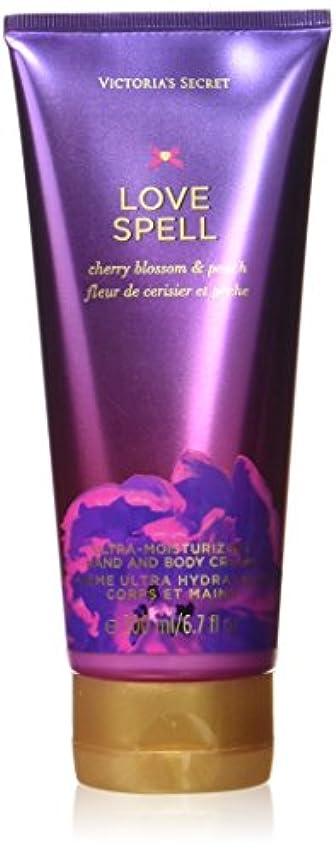 赤外線おびえた排泄物ヴィクトリアシークレット ラブスペル ハンド&ボディクリーム Hand and Body Cream(Love Spell)