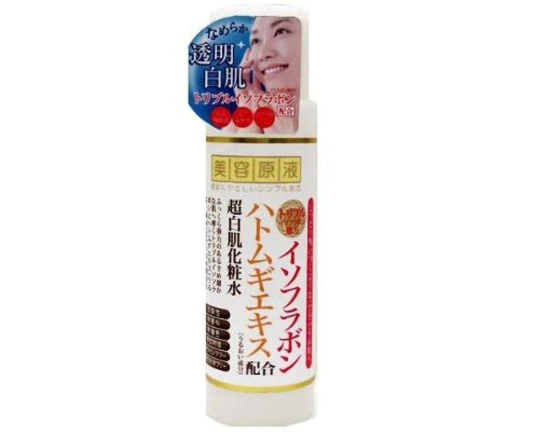 ぼかす実用的広範囲に美容原液 イソフラボンとハトムギの化粧水