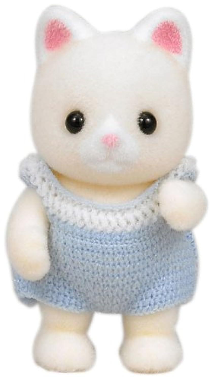 シルバニアファミリー 人形 シルクネコの赤ちゃん ニ-65