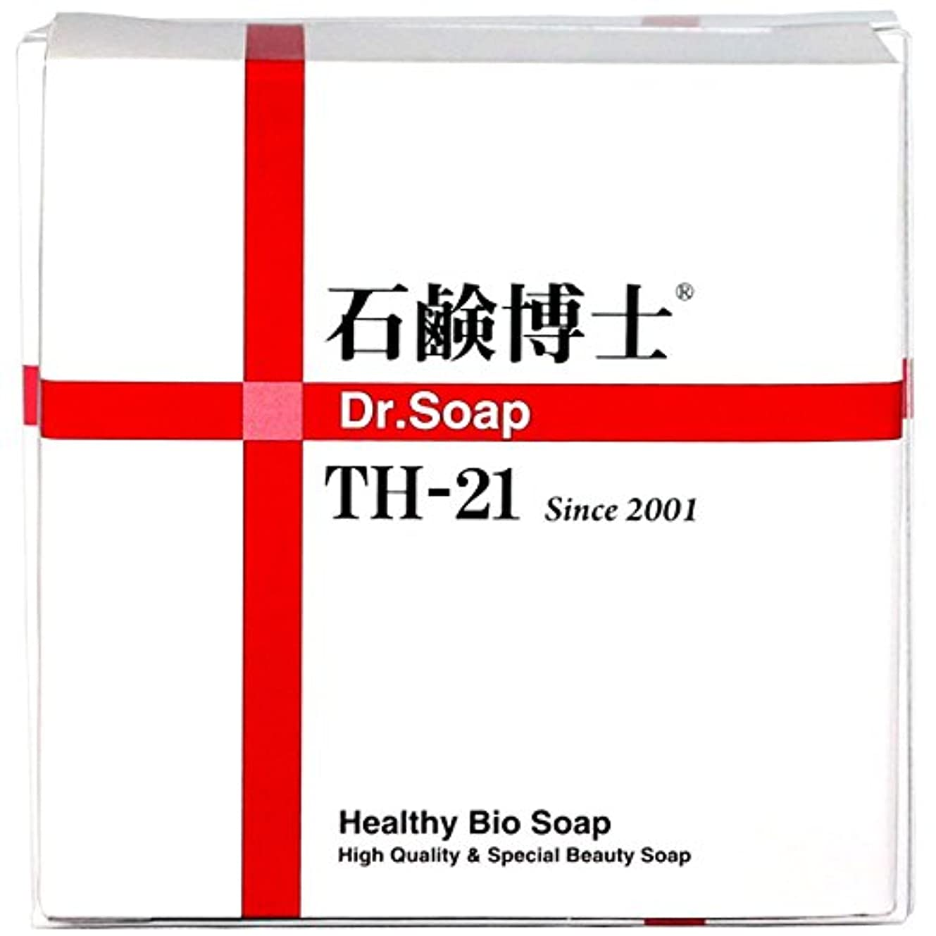 ではごきげんよう芝生付録ミネラルと分解酵素で洗顔しながらスキンケア 石鹸博士 DRソープ石鹸 Dr.Soap TH-21 100g