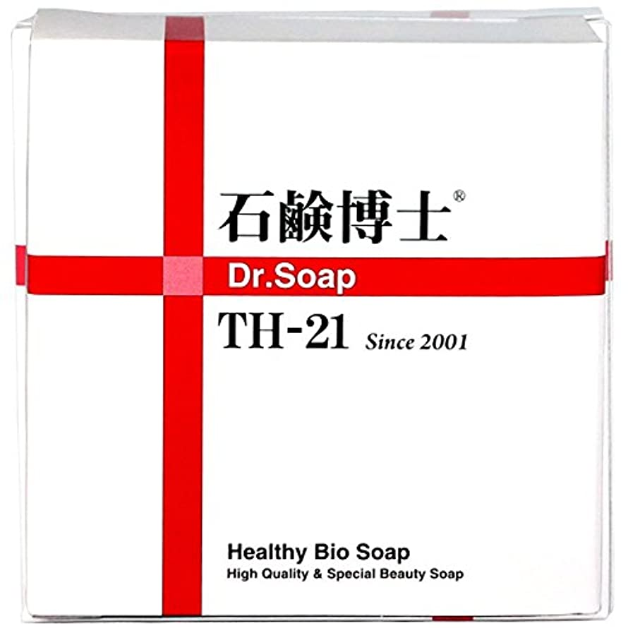 シェルター保存する不格好ミネラルと分解酵素で洗顔しながらスキンケア 石鹸博士 DRソープ石鹸 Dr.Soap TH-21 100g
