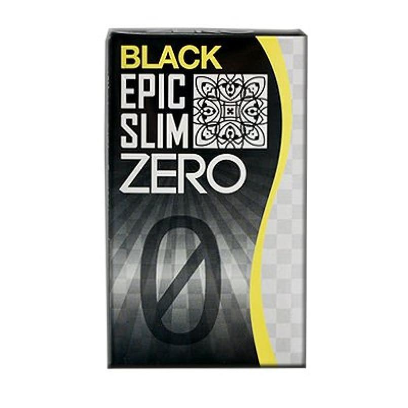 対処ロゴ飾り羽ブラック エピックスリム ゼロ ブラック Epic Slim ZERO BLACK
