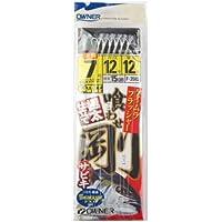 OWNER(オーナー) 喰わせ剛サビキ ケイムラフラッシャー仕掛 7-12-12