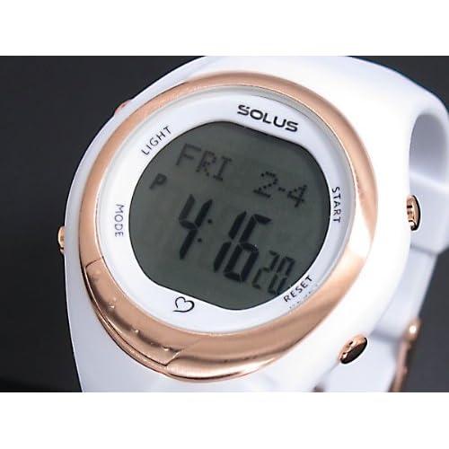 ソーラス SOLUS 心拍計測機能付き デジタル 腕時計 01-300-02