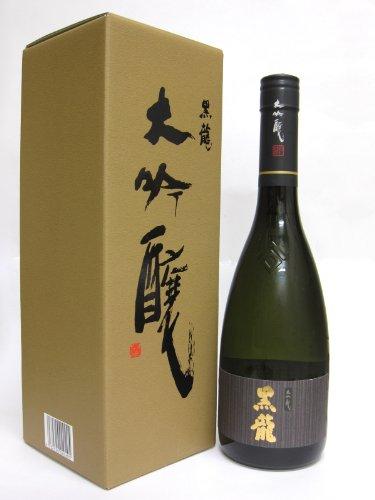 黒龍 [大吟醸酒]