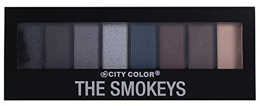 ジェームズダイソン引き出す明示的にCITY COLOR The Smokeys Eyeshadow Palette (並行輸入品)