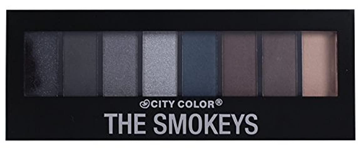 CITY COLOR The Smokeys Eyeshadow Palette (並行輸入品)