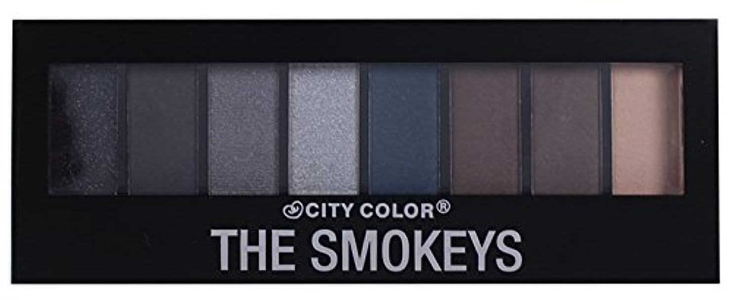 ものオークションスキャンダラスCITY COLOR The Smokeys Eyeshadow Palette (並行輸入品)