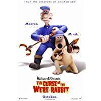 Wallace & Gromit : The Curse of the were-rabbit – 映画ポスター – 27 x 40