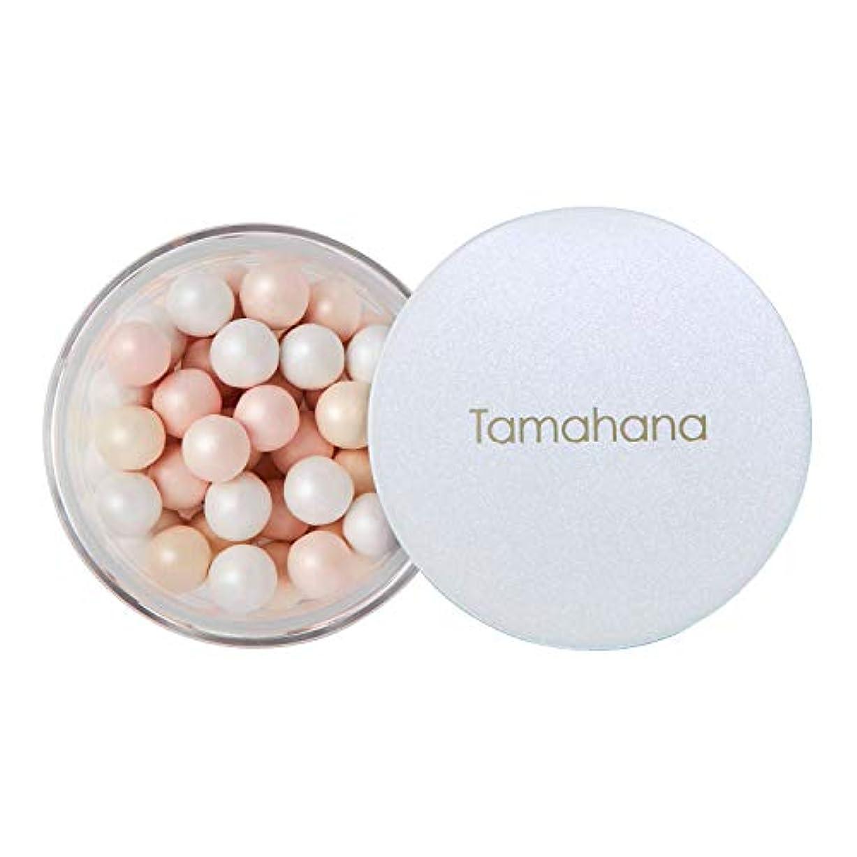 予知一般的な急行するTamahana(タマハナ) シャイニー ブライトニングルースパウダー パフ付 <フェイス?ボディーパウダー>