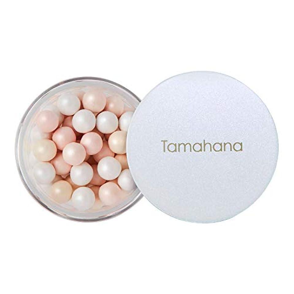 成功する重くする対立Tamahana(タマハナ) シャイニー ブライトニングルースパウダー パフ付 <フェイス?ボディーパウダー>