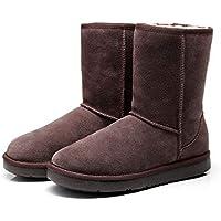 Best Gift Choice UGG Boots 3/4 Short Classic, Suede Upper & Australian Sheepskin Inner