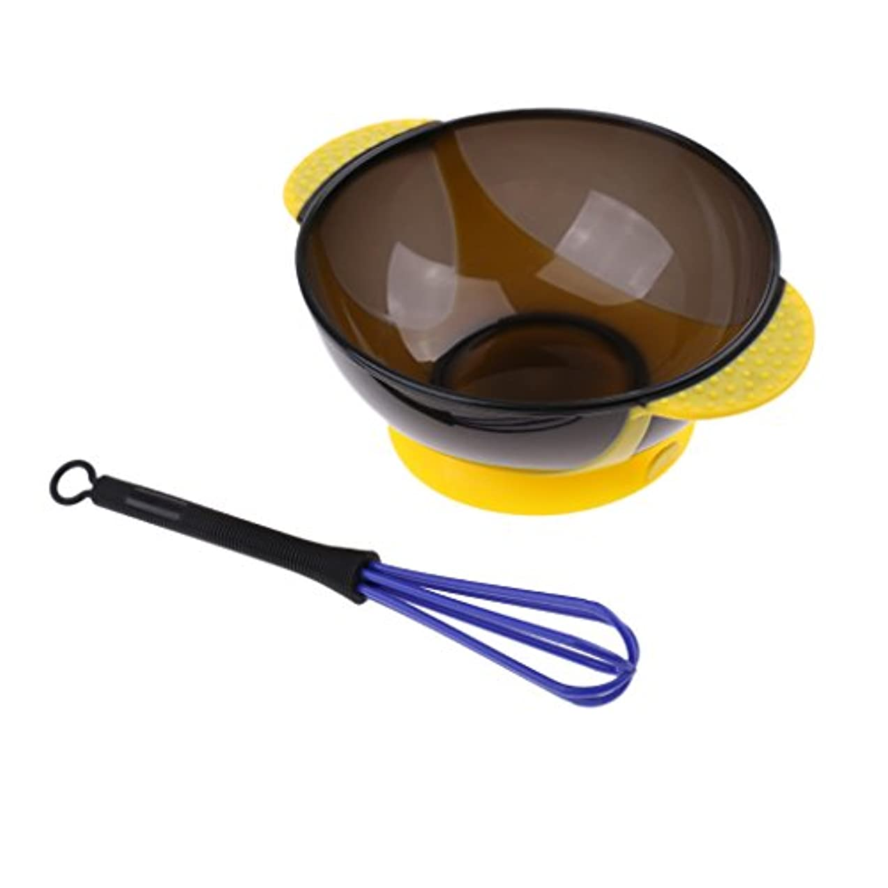 ベスビオ山ダブル雨のサロンヘアカラーミルクアンチスリップボウルミキサースターラーセット美容着色ツール