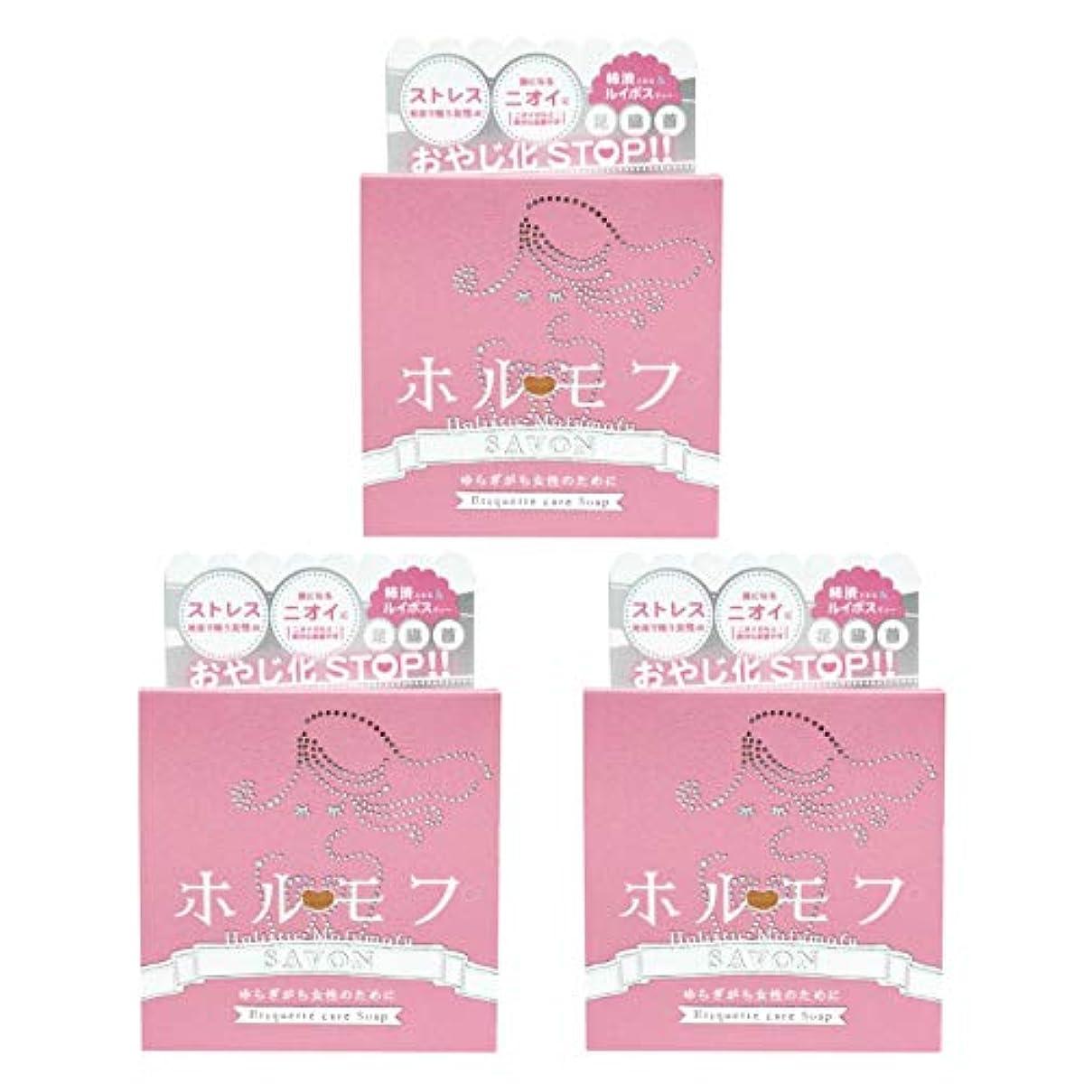 【3個セット】ペリカン石鹸 ホルモフ エチケットソープ 100g【3個セット】
