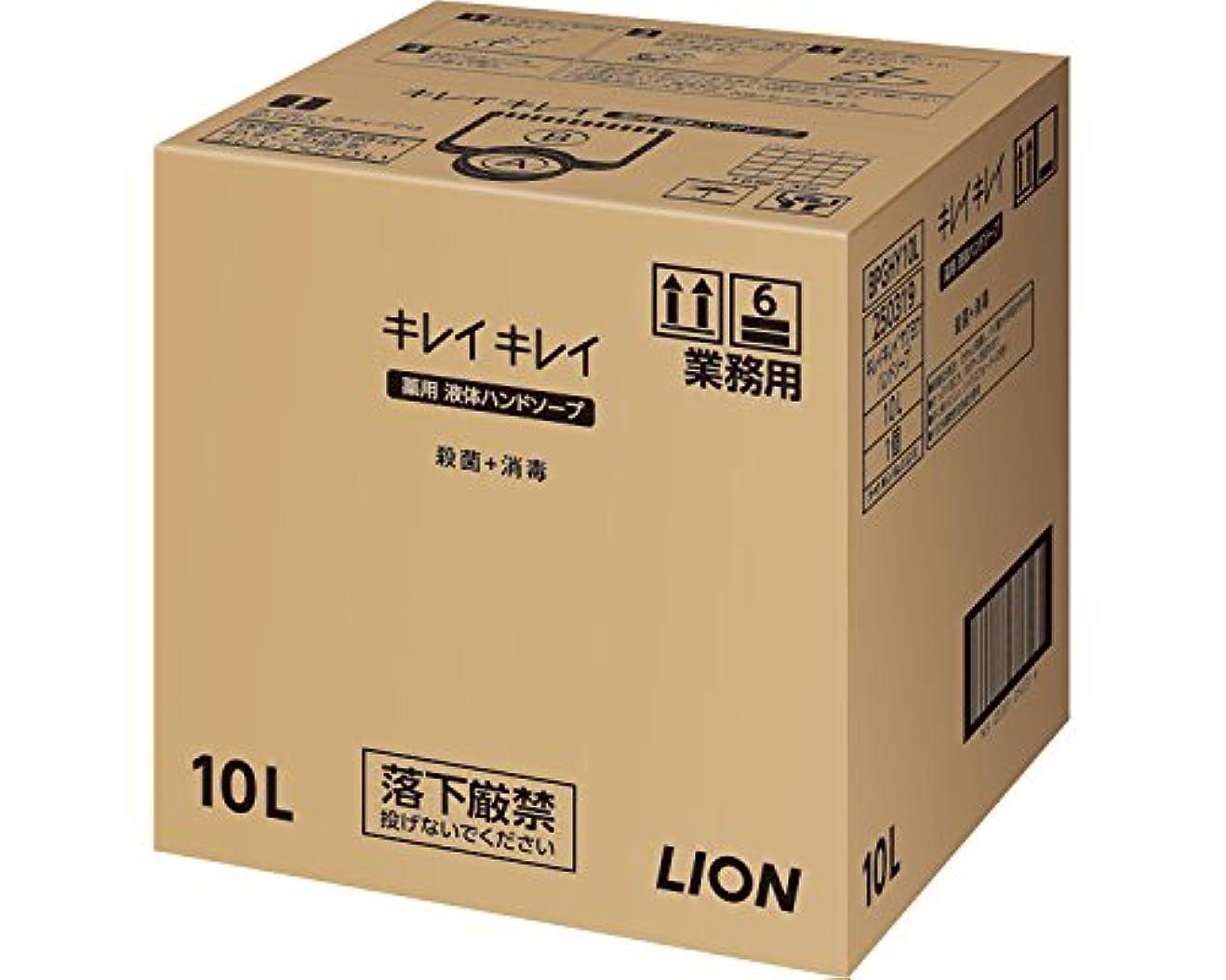 後者フォーラム十分ですキレイキレイ薬用ハンドソープ 10L (ライオンハイジーン) (清拭小物)