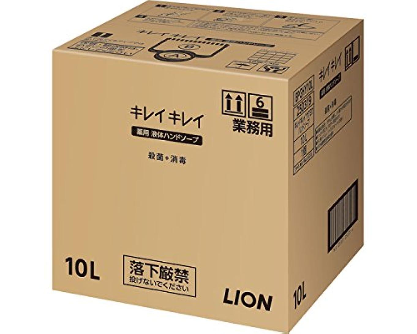 ベックス肥沃な勧めるキレイキレイ薬用ハンドソープ 10L (ライオンハイジーン) (清拭小物)
