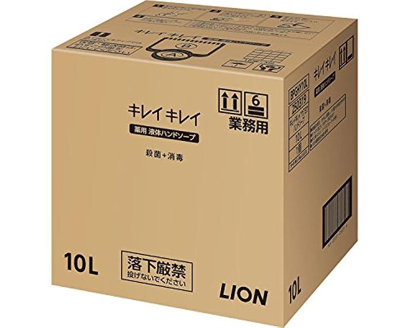 条約施設コインキレイキレイ薬用ハンドソープ 10L (ライオンハイジーン) (清拭小物)