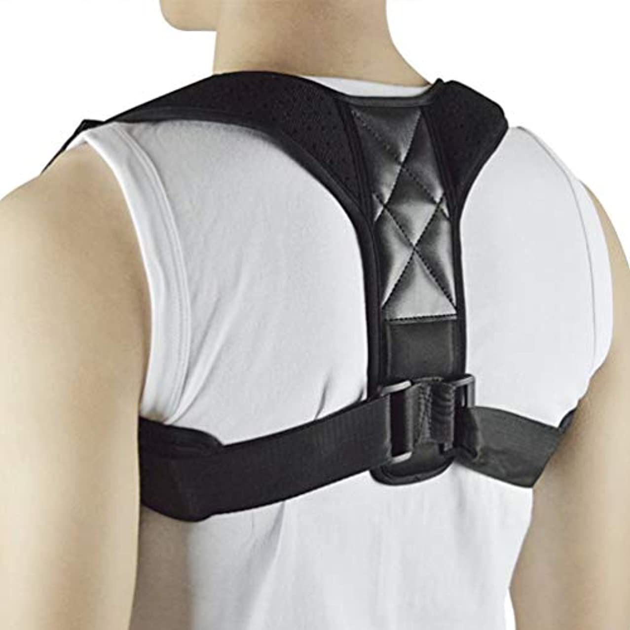 散歩信仰しつけWT-C734ザトウクジラ矯正ベルト大人の脊椎背部固定子の背部矯正 - 多色アドバンス