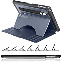 ZUGU CASE - 2018/2017 iPad 9.7-5/6 Gen & iPad Air 1 Prodigy X Case - Very Protective But Thin + Convenient Magnetic Stand + Sleep/Wake Cover (Navy Blue)