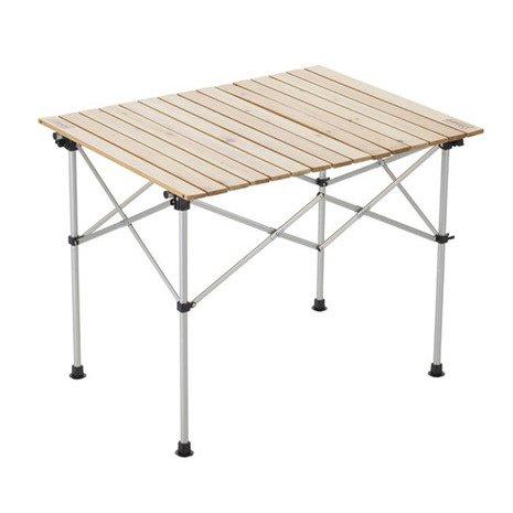 [해외] 콜맨(콜맨) 내추럴 우드 롤 테이블 90 2000031290 캠프 바베큐- (SIZE:FF|COLOR:무)