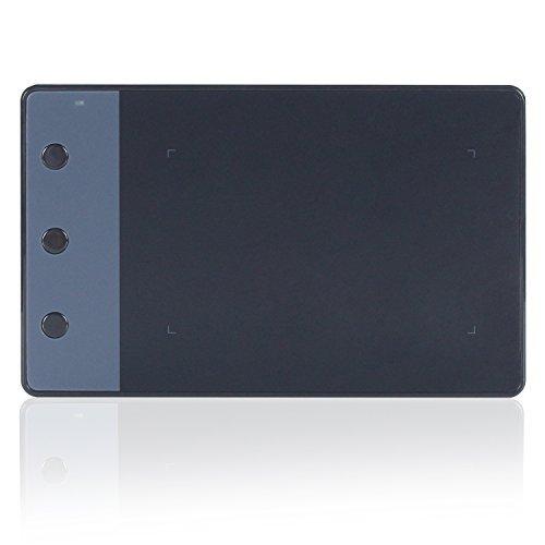 HUION OSU用ペンタブ シグナチュアボード携帯式ペンタブレット H420 ブラック