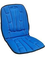 ツインバード シートマッサージャー ブルー EM-2537BL