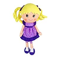 Anico Well Made Play Doll For Children Sidney Doll 15 Tall Lavender [並行輸入品]