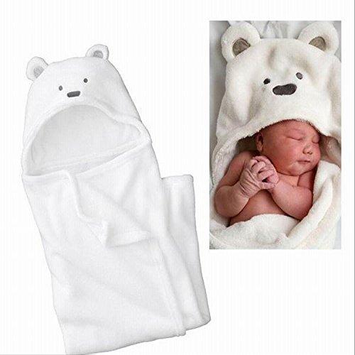 赤ちゃんパイルフカフカクマさんおくるみ