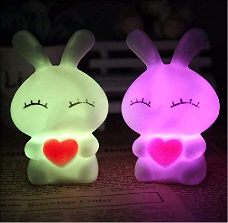 手術修正する有毒な七里の香 シリコンランプ LEDナイトライト 常夜灯 USB充電 子供用 1PC